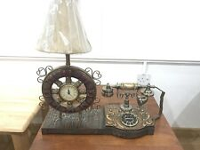 Vintage Antique Resin Telephones Old Fashioned European Style Landline