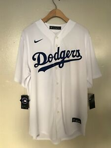 Brand New Nike Dodgers Mookie Betts Baseball Jersey White Size Large T770-LDWH