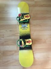 Rome Garage Rocker Snowboard 152CM w/ Shift Binding Freestyle, Park, AllMountain