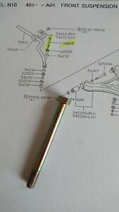 Datsun Cherry N10, front anti roll bar link bolt, new genuine part, 54618-M7000.