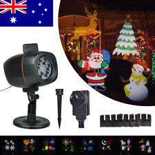 8 Patterns Projector Light Xmas Outdoor Laser Light Projector Party Decoration