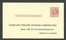 1952 PC CHICAGO IL MARYLAND THEATRE BLDG CORP PROXY ASSIGNMENT, UNPOSTED