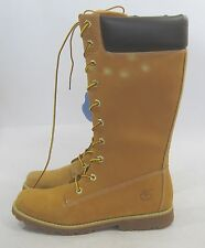 new Timberland Womens Winter Wheat Leather Mid-Calf Boot Size 8.5