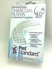 9 Pack Of Pet Standard Charcoal Filters Ps-Ppwf-10Pk Was A 10 Pack 1 Is Missing