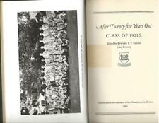 1948 AFTER TWENTY-FIVE YEARS OUT CLASS OF 1921 SCIENCTIFIC NEW HAVEN,CONNECTICUT