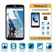 3x PELLICOLA per Motorola Nexus 6 FRONTE + PANNO PROTETTIVA DISPLAY