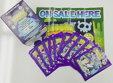 *Topps Moshi Monsters Collectable Stickers Box(50 pks) x 4 +2 Official Album