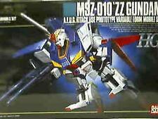 BANDAI MSZ-010 Zeta ZZ GUNDAM HG 1/144 MODEL KIT MSZ 010 High Grade