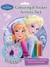 DISNEY congelato da colorare e adesivi Attività Pack-NUOVO