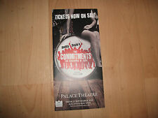 **The Commitments The Saviours Of Soul Flyer At Palace Theatre London**