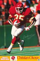 POSTER: NFL FOOTBALL: CHRISTIAN OKOYE - K C  CHIEFS  RUNNING BACK - #7205  RW1 C