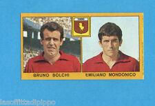 PANINI CALCIATORI 1969/70-Figurina- BOLCHI+MONDONICO - TORINO -Recuperata
