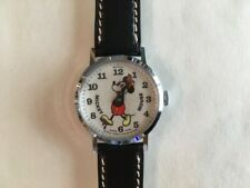 Vintage Bradley Mickey Mouse Pie Eyed Swiss Watch 23 - EXE - Runs