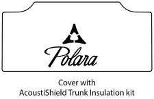 1965 1968 Dodge Polara Trunk Rubber Floor Mat Cover with MB-085 Polara