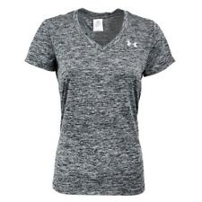 New With Tags Womens Under Armour Twisted Tech V Neck Tee Shirt Top