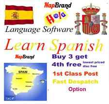 Spanish Language Course Holiday or Business use CD mp3 audio & text
