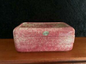 Vintage Art Deco Australian Pottery Trough Vase Pate's
