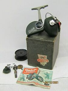 VINTAGE DAM QUICK SUPER NO. 270, BOX, DOC'S, EXTRA SPOOL AND PARTS GERMANY