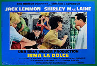 T28 Fotobusta Irma Die Sweet Jack Lemmon Shirley Mac Laine Billy Wilder