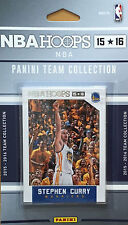 Golden State Warriors 2015 2016 Hoops Factory Team Set Stephen Curry Klay 15 16