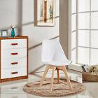 Set de 4 tulipe Jamie Lorenzo Chaise salle à manger, Eiffel inspiré, bois solide