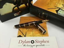 Montblanc Meisterstuck writers limited edition Miguel de Cervantes fountain pen