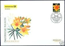 Frg 2006: Feuerlilie! post-Fdc No. 2534 With Berlin First Day Postmark! 1605
