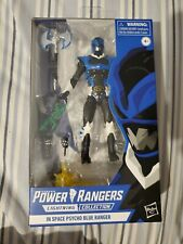 Power Rangers Lightning Collection In Space Psycho Blue Ranger Action Figure