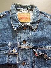 LEVI'S 70570 06 Veste en jean homme XL Extra Large Bleu Strauss Vintage # ljktz 985
