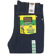 Vintage Wrangler Boot Cut 936DEN Slim Fit (30x34) Heavy Weight Denim Blue Jean