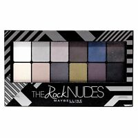 Maybelline The Rock hautfarben Lidschatten Pallete Quad TRIO DUO Make-up /