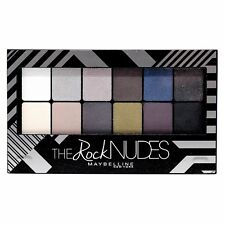 Maybelline The Rock Nudes Eyeshadow Pallete Quad Trio Duo Makeup w/ Applicator