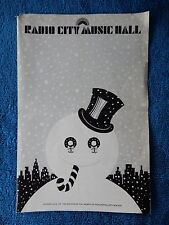 The Slipper And The Rose - Radio City Music Hall Playbill - January 6th, 1977