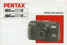 179804 PENTAX IQZOOM EZY-R/EZY-R DATE GENUINE INSTRUCTION MANUAL