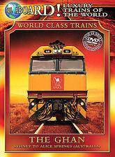 The Ghan (Slimline DVD, 2004, The World Class Train Series) BRAND NEW SEALED DVD