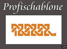 Schablone, Wandschablone, Malerschablone, Wanddeko, Mäander 3, Keltisches Muster