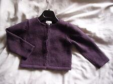 Gilet violet Mila Blue 3 ans