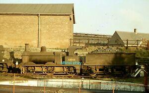 Original 35mm slide Midland 2F 58148 Coalville Shed 1963 days before withdrawal
