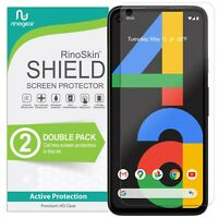 [2-PACK] For Google Pixel 4a Screen Protector Case Friendly Tempered Glass