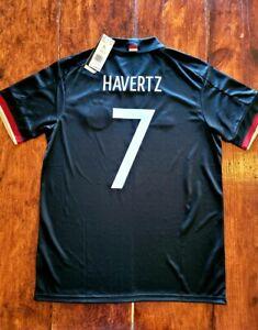 2021/22 Adidas EURO 2020 Germany #7 Havertz  Away Soccer Jersey EH6117