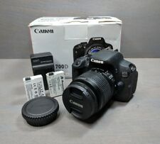 Canon EOS Rebel T5i 700D 18.0 MP DSLR with EFS 18-55mm IS II Lens - 1K Clicks!