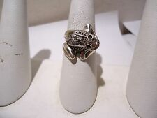 STERLING SILVER FROG WRAP RING SIZE 8.5 GG