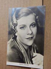 Film Weekly Film star postcard Renate Muller postcard sized photo Original.