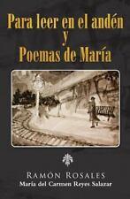 Para Leer en el Anden by Ramón Rosales (2014, Paperback)