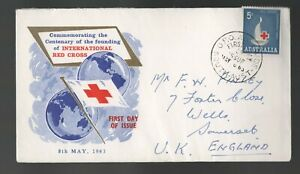 1963 Australia Red Cross FDC. Adelaide First day cover