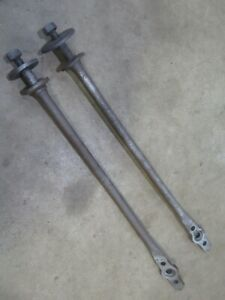 1966 1967 Buick Riviera front control arm stabilizer support arm bars pair