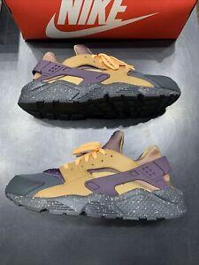 Nike Air Huarache Run Premium Pro Purple Size 14 704830-012