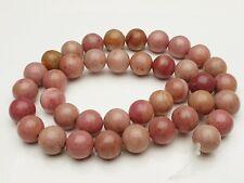 Rhodochrosite Edelstein Perlen rosa rund Kugel Gemstone beads Rosenspat 10 mm