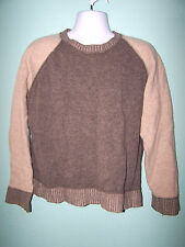 H&M LOGG Mens Long Sleeve 100% Lambswool Sweater Size XL