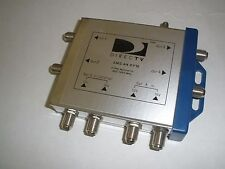 DIRECTV SMS  4-Way MULTI-SWITCH 950-1450 MHz :  PRE-OWNED!